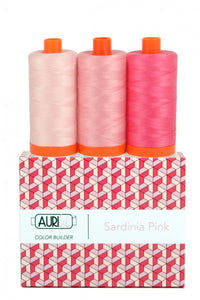 Aurifil Color Builder 3 pc Set - Sardina Pink