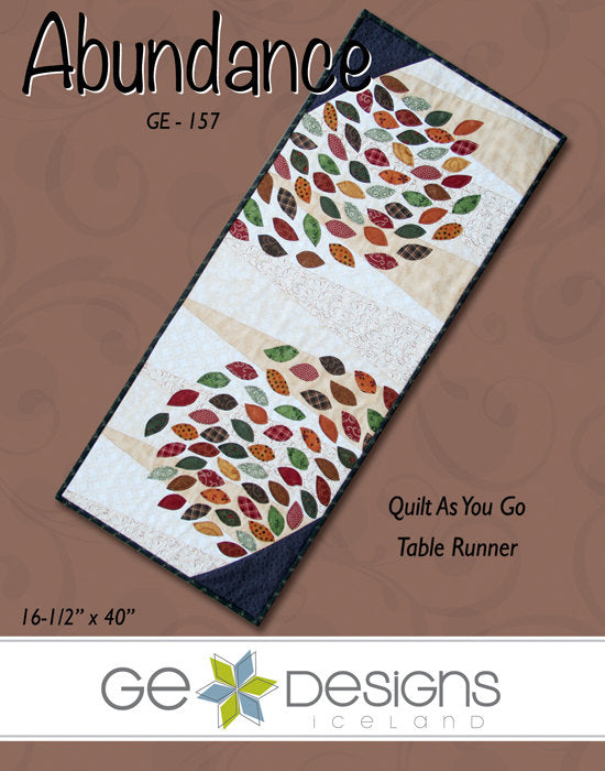 Abundance Table Runner Pattern