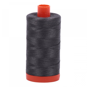 Aurifil 50 wt Thread - color Pewter