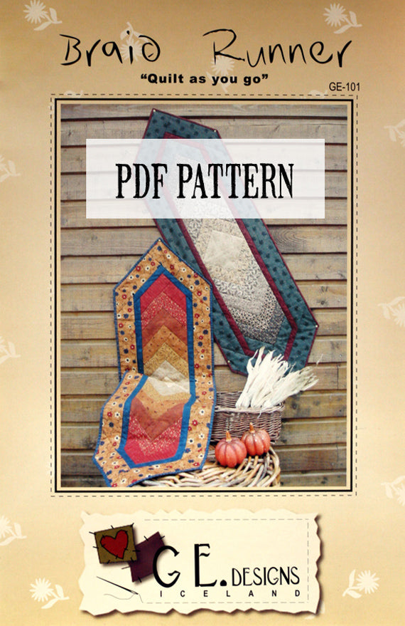 Braid Runner Pattern PDF