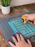 "Creative Grids Cutting Mat 12"" x 18"" by Gudrun Erla"