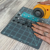 "Creative Grids Cutting Mat 6"" x 8"" by Gudrun Erla"