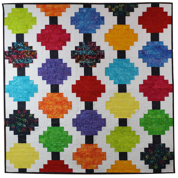 Courthouse Lanterns- Quilt Pattern Cut Loose Press