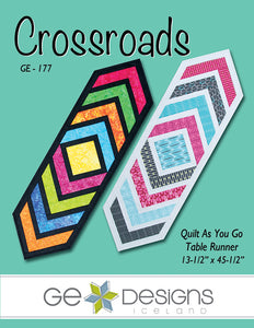 Crossroads Table Runner Pattern