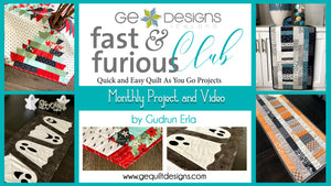 Fast & Furious Club - 9 MONTHS  QAYG pattern & video class