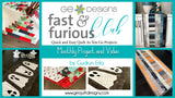 Fast & Furious Club - 3 MONTHS  QAYG pattern & video class