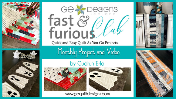 Fast & Furious Club - 9 MONTHS  QAYG pattern & video class SEASON 1