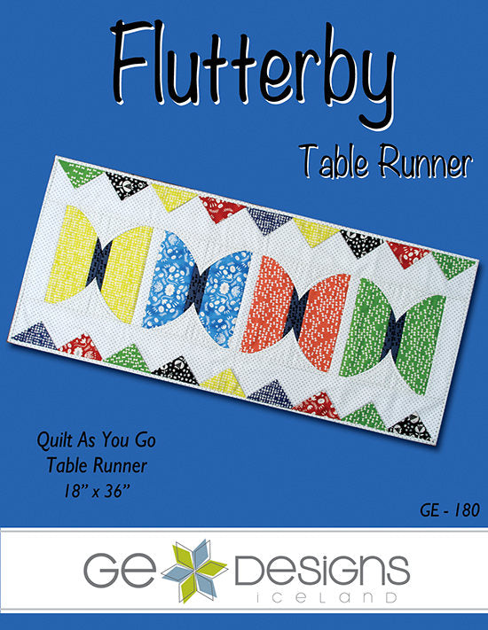 Flutterby Table Runner Pattern