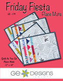 Friday Fiesta Place Mats Pattern