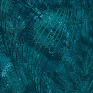 "Go With the Flow Dark Teal 108"" Wide - 3 YARD"