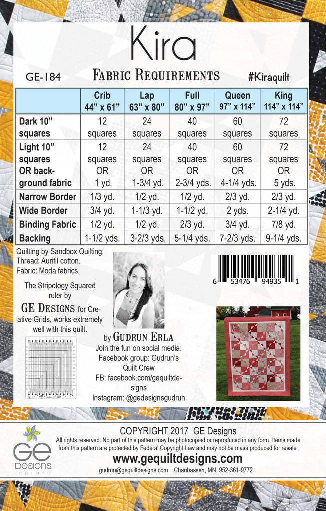 Kira 10 Quot Square Pattern Gedesigns