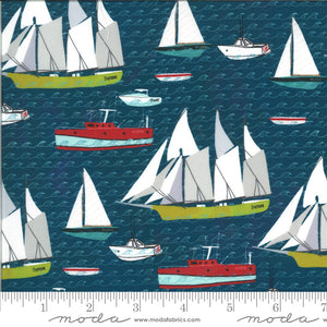 Lakeside Story Sailboats - 3 Yard