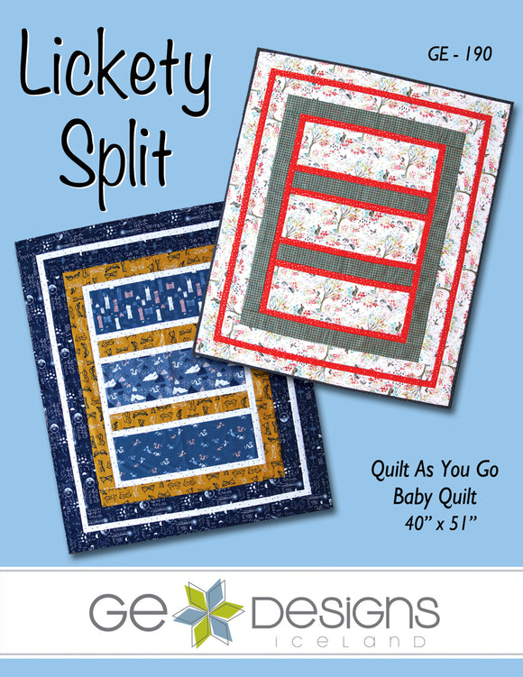 Lickety Split Crib Quilt Pattern