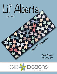 Lil' Alberta - Table runner pattern