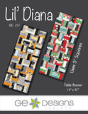 Lil' Diana - Table runner pattern