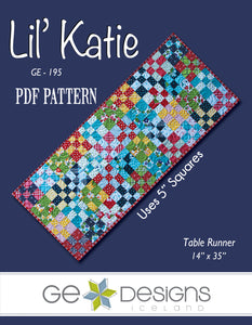 Lil' Katie - PDF Table runner pattern