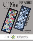 Lil' Kira - PDF Table runner pattern