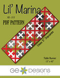 Lil' Marina - PDF Table runner pattern