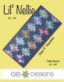 Lil' Nellie - Table runner pattern