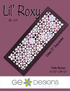 Lil' Roxy - Table runner pattern