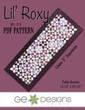 Lil' Roxy - PDF Table runner pattern
