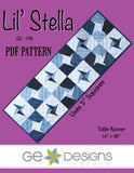 Lil' Stella - PDF Table runner pattern