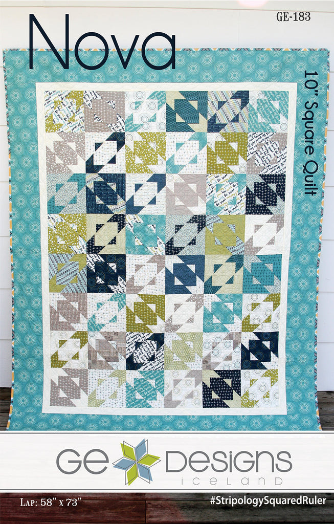 Stripology Squared 10 Quilts from 10-Inch Squares Quick Cutting with the Stripology Ruler