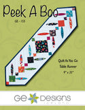 Peek A Boo Table Runner Pattern