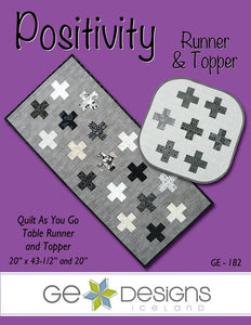 Positivity Table Runner & Topper Pattern