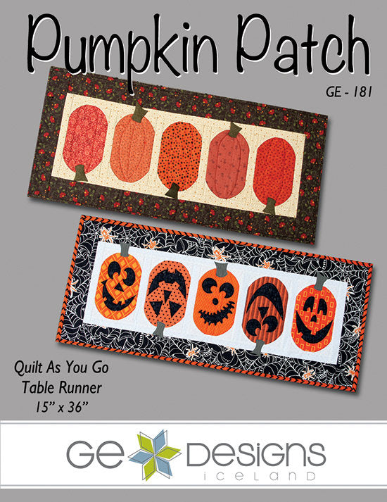 Pumpkin Patch Table Runner Pattern