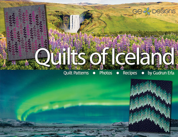 Quilts Of Iceland Book - PRESALE OFFER