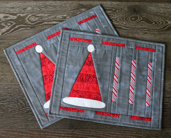 Santa's Hat Placemats Kit