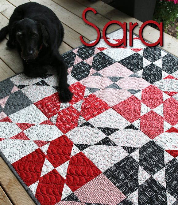 Sara - Quilt Pattern Cut Loose Press