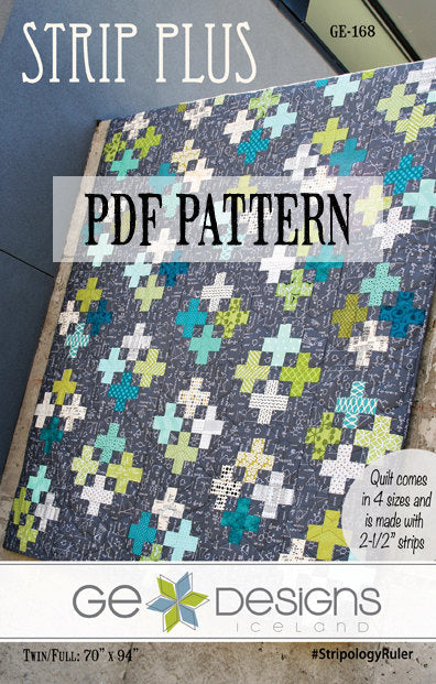 Strip Plus Pattern PDF