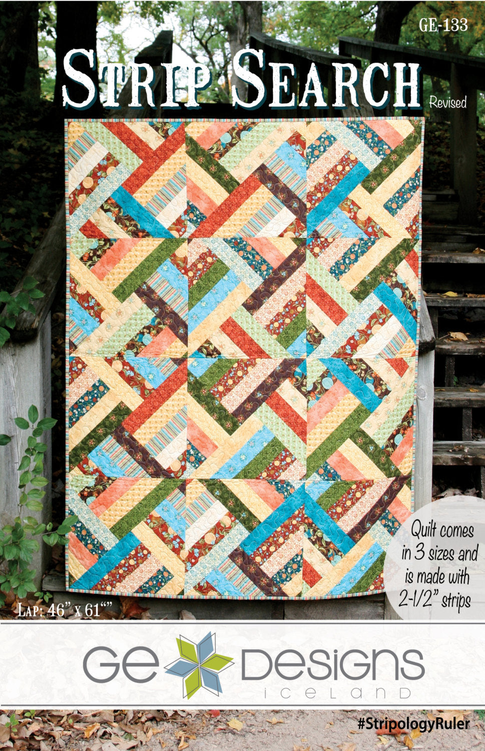 Strip Search Pattern – Gedesigns : 2 1 2 strip quilt patterns - Adamdwight.com