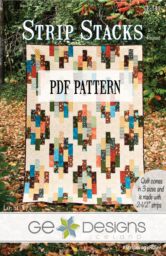 Strip Stacks PDF Pattern