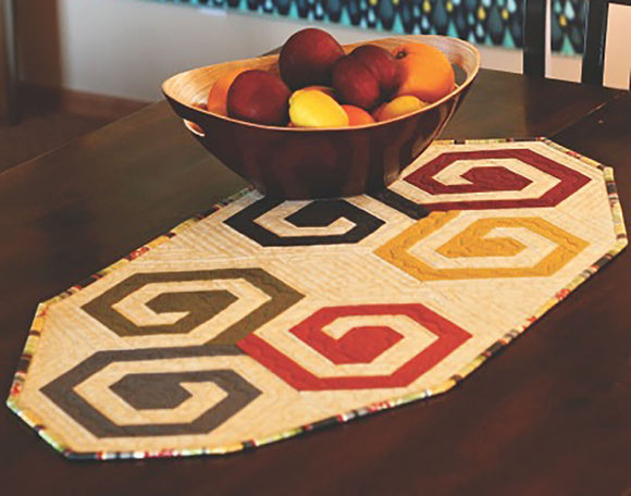 Tilt A Whirl - Table Runner pattern