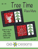 Tree Time Place Mats Pattern