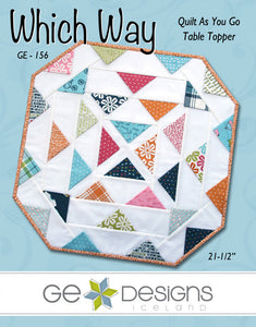 Which Way Table Topper Pattern