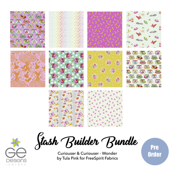 Curiouser & Curiouser Wonder Stash Builder Bundle PREORDER