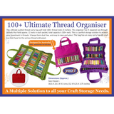 Yazzii Ultimate Thread Organizer 100 Red