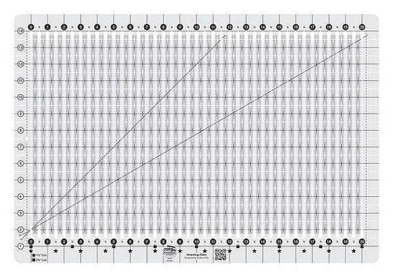 Stripology Ruler by GE Designs