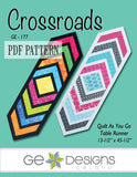 Crossroads Table Runner Pattern PDF
