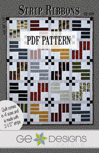 Strip Ribbons Pattern PDF