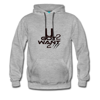 U Got 2 Want 2 Sports Hoodie - heather gray
