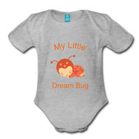 Baby Onsie entirely 4 her organic Dream Bug Short Sleeve - Midwest 2 U