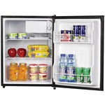 Magic Chef 2.4 cu ft Refrigerator Compact Single Door , Silver Stainless Look 1 each - Midwest 2 U
