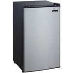 Refrigerator Magic Chef 3.5 Cubic-ft (Stainless Look) - Midwest 2 U