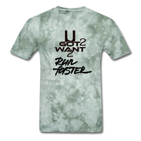 UGot2Want2 Run Faster Tee - Military Green Tie Dye