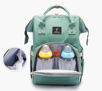 Waterproof Baby Diaper Bag With USB charging port - Midwest 2 U